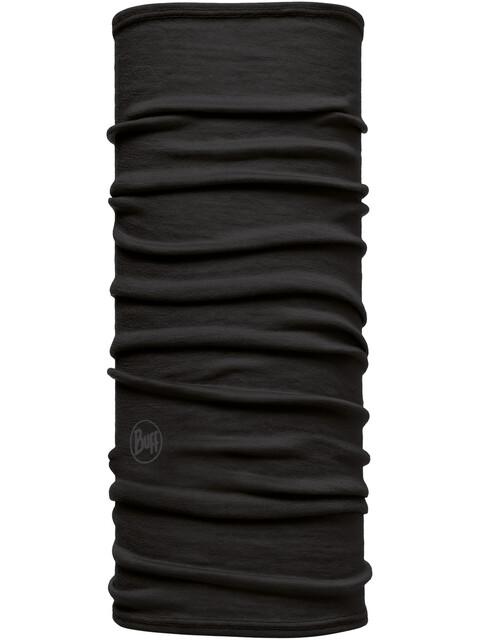 Buff Lightweight Merino Wool - Pañuelos & Co para el cuello Niños - negro